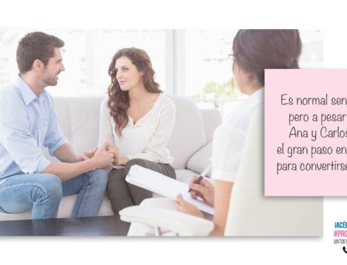 Ana y Carlos y cómo surgió Mom To Be