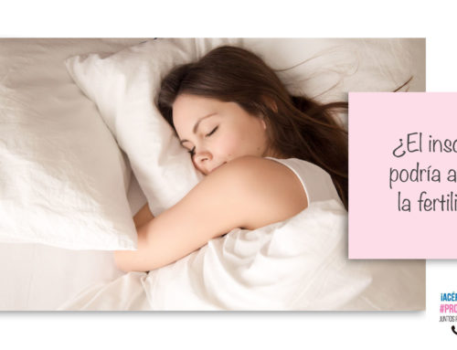¿Por qué el insomnio puede afectar mi fertilidad?